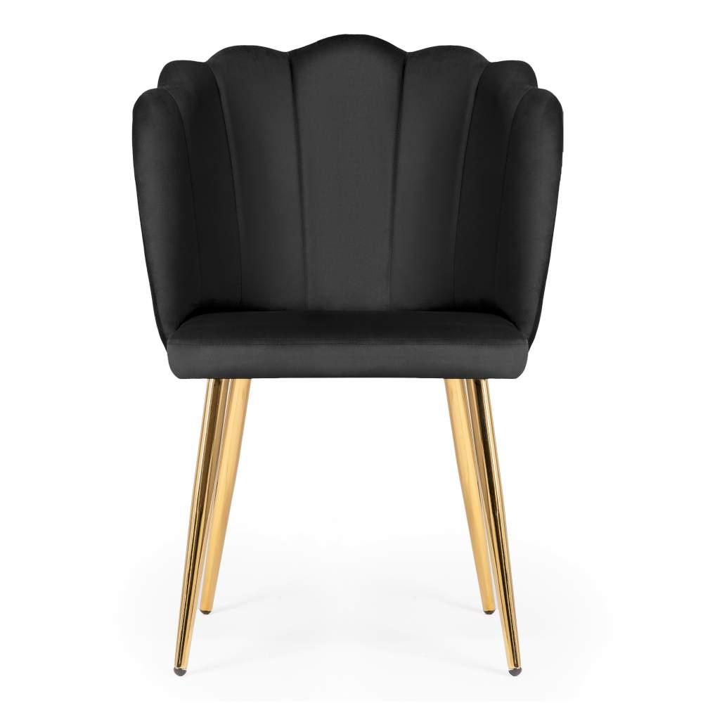 krzesło hilton na złotych nogach