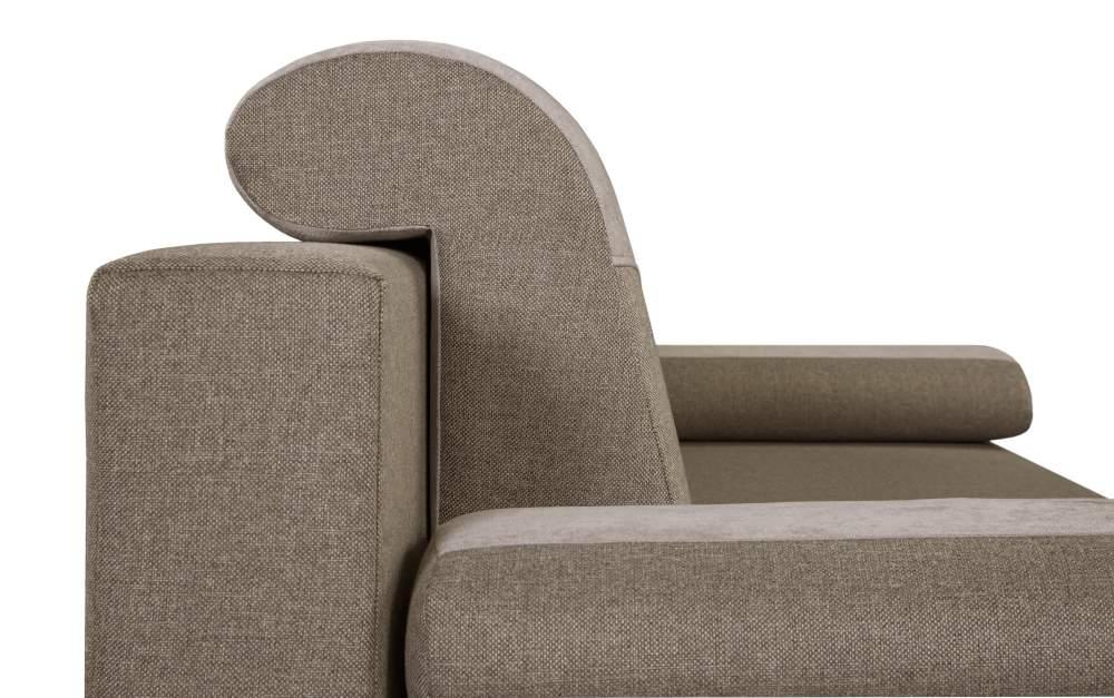 sofa vita black red white beżowa