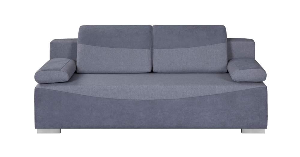 sofa vita black red white szara