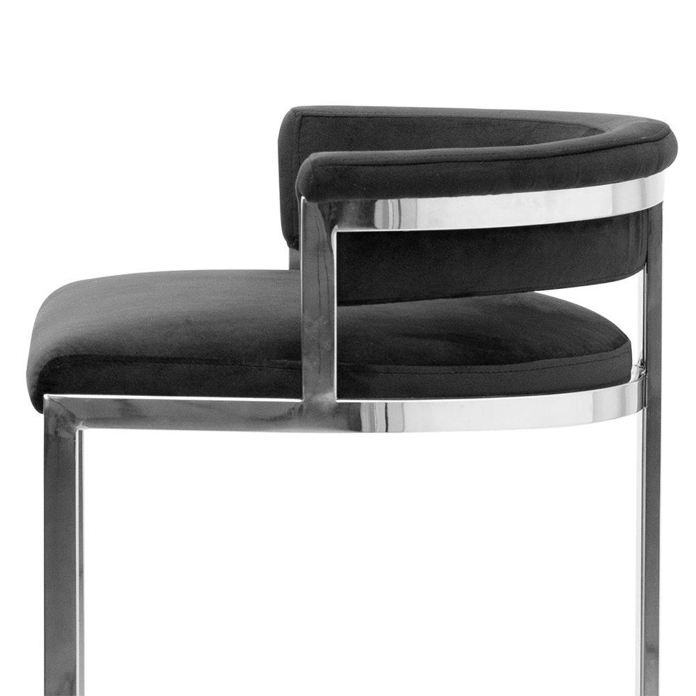 krzesło welurowe