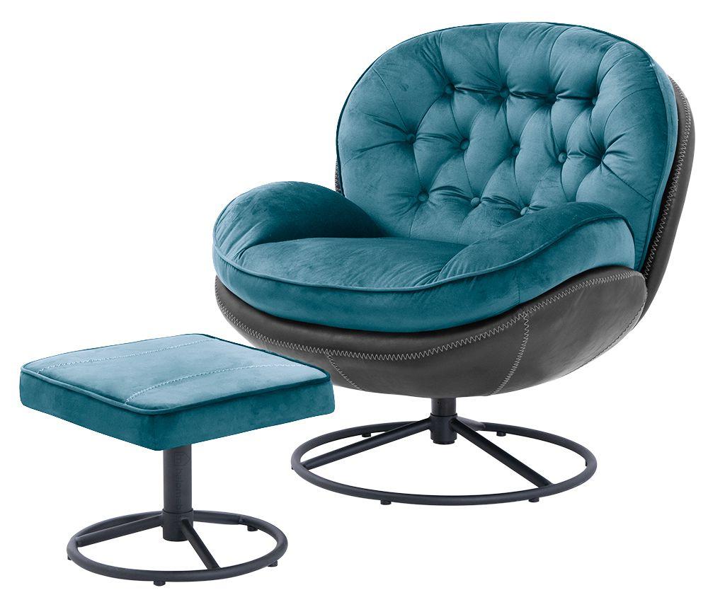 fotel turkusowy młodzieżowy
